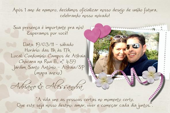 Web Com Arte Convites De Casamento