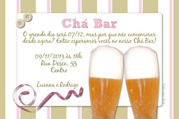 Web Com Arte Convites De Cha